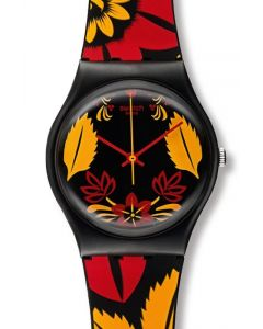 Swatch Muttertags Special Gent KALINKA - MALINKA RED GZ285