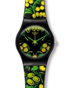 Swatch Muttertags Special Lady KALINKA - MALINKA GREEN LZ111