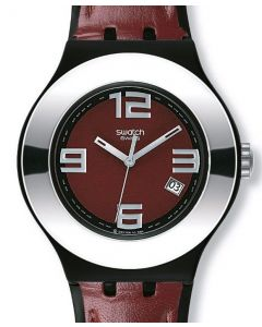 Swatch Irony Nabab Leather on YNB400