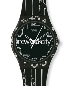 Swatch Gent Artist Special LINES IN THE SKY GZ209