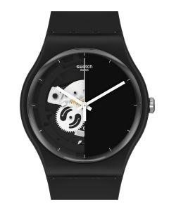 Swatch Originals New Gent Live Time Black SO32B107