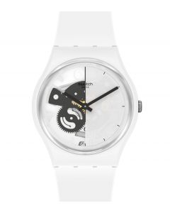 Swatch Originals Gent Live Time White SO31W101