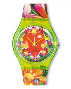 Swatch Gent Love Peace and Happiness GJ118