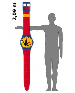 Maxi Swatch MAXI BOXING MGN163