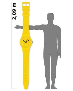 Maxi Swatch MAXI LEMON TIME MGJ128