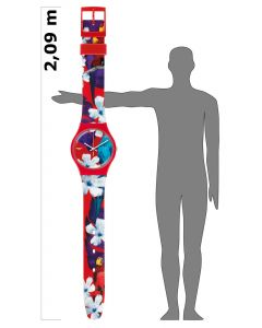 Swatch Maxi Mister Parrot MSUOR105