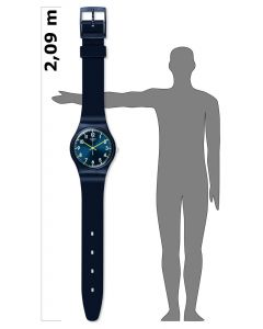 Swatch Maxi Sir Blue MGN718