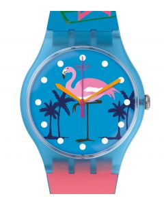 Swatch New Gent MIAMI VIBES / Destination Special 2016 Miami SUOZ230