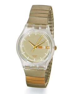 Swatch Gent Flex Moka gold GK336