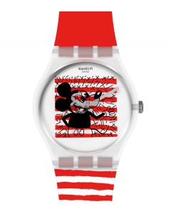 Swatch Gent Special Mouse Mariniére by Keith Haring GZ352