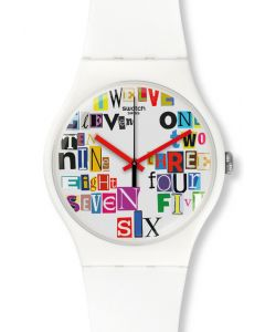 Swatch New Gent Multi Collage SUOW132
