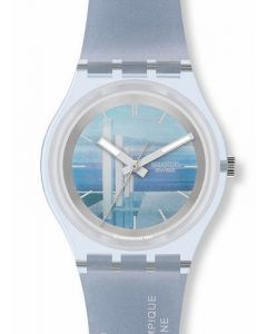Swatch Gent Access MUSEE OLYMPIQUE SKZ118