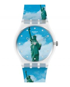 Swatch Gent New York by Tadanori Yokoo, The Watch GZ351