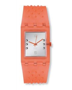 Swatch Square Orange Braille SUAO100