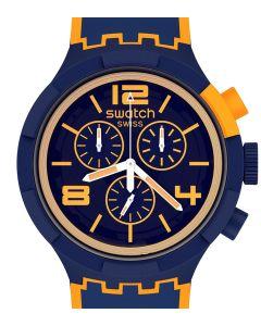 Swatch Big Bold Chrono Oragepayspay! SB02N100-5300