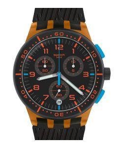 Swatch Plastic Chrono Orange Tire SUSO401