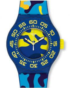 Swatch Scuba Libre OUT IN THE WILD SUUN101