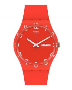 Swatch Gent Over Red GR713