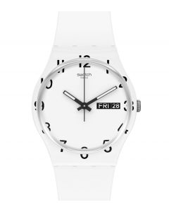 Swatch Gent Over White GW716