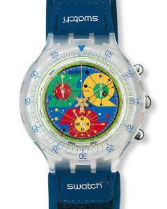 Swatch Aqua Chrono Paradiso Perdido SBK120