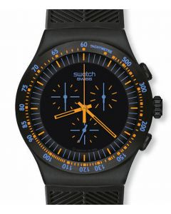 Swatch Irony The Chrono Peach in Dark YOB104