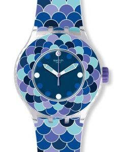 Swatch Scuba Libre Pedrinha Azul SUUK110