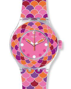 Swatch Scuba Libre Pedrinha Rosa SUUK111