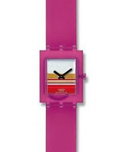 Swatch Square PINK MIAMI SUBP100