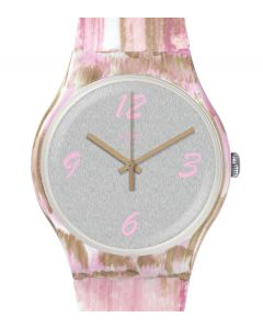 Swatch New Gent Pinkquarelle SUOW151
