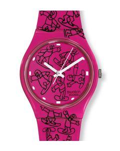 Swatch Gent Artist Special Pink Ride GZ200