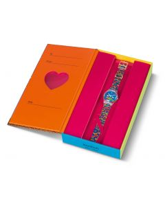 Swatch Gent Valentins Special Planet Love GZ307S