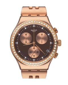 Swatch Irony Chrono Precious Rose YCG409G