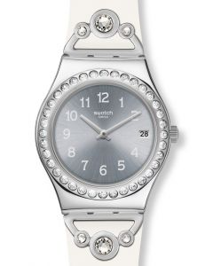 Swatch Irony Medium Pretty In White YLS463
