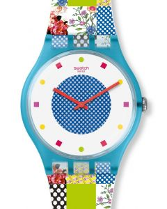 Swatch New Gent Quilted Time SUOS108