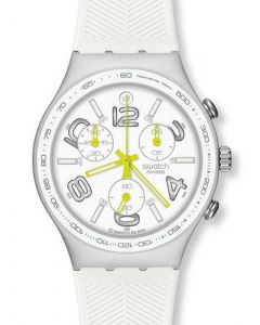 Swatch Irony Chrono Ray of Light White YCS4051