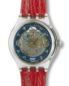 Swatch Automatic Red Ahead SAK101