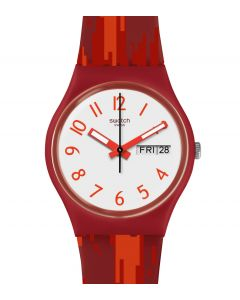 Swatch Gent Red Flame GR711