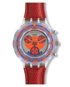 Swatch Aqua Chrono Red Harbour SBG100