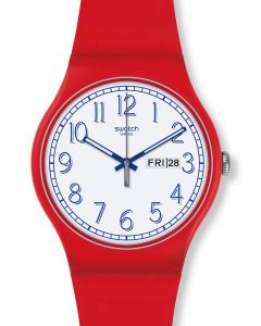 Swatch New Gent RED ME UP SUOR707