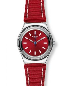 Swatch Irony Lady Red Street Wrist YSS289