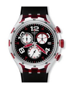 Swatch Irony XLite Chrono Red Wheel YYS4004