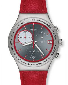 Swatch Irony Chrono RED WINK YCS558