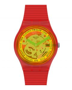 Swatch Originals Gent Retro Rosso GR185