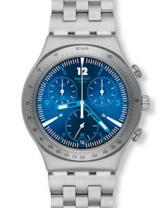 Swatch Irony Chrono Rythmic Blue YCS575G