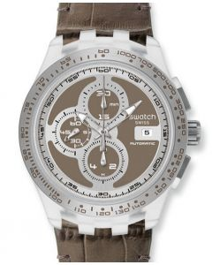 Swatch Chrono Automatik RIGHT TRACK GREY SVGK409