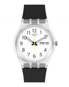Swatch Gent Rinse Repeat Black GE726