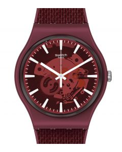 Swatch New Gent RnW (Red and White) Pay! SVIR101-5300