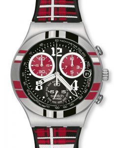 Swatch Irony Chrono Rock'n'Tartan YCS504