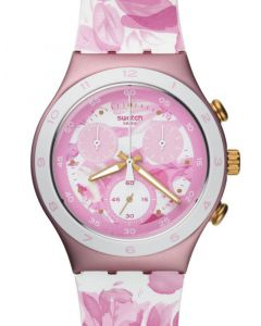 Swatch Irony Chrono ROSE JUNGLE YCP1001
