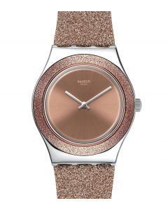 Swatch Irony Medium Rose Sparkle YLS220